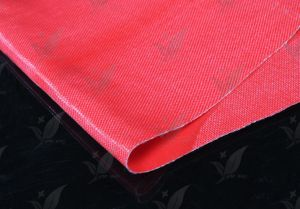 Fiberglass Cloth with Fluorous Rubber for Fabric Joint pictures & photos