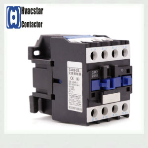 Hot Sale Hvacstar Cjx2 Series AC Contactor 25A Electrical Profucts 660V pictures & photos