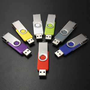 Wholesale Swivel OEM USB Flash Drive with Custom Logo pictures & photos