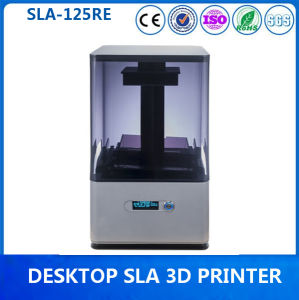 Factory 0.025mm Precision SLA Desktop Resin 3D Printer for Office pictures & photos