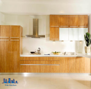 Modern High Gloss L Shape UV Kitchen Cabinet (p-02)