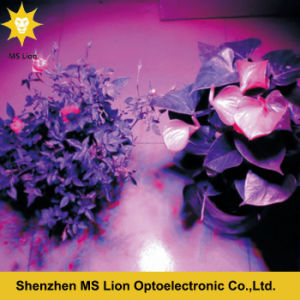 Full Spectrum 75W UFO LED Grow Light 25*3W for Indoor Flower Plants Grow pictures & photos