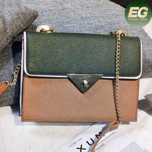 Color Collision Promotion Korean Style Stitching Lady Shoulder Bag Clutch Purse Sy8138 pictures & photos