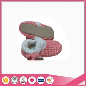 Baby Knit Indoor Shoes Slippers pictures & photos