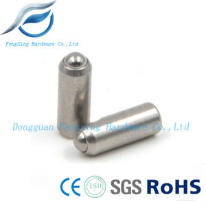 Stainless Steel Press-Fit Spring Plunger with Ball Roller pictures & photos