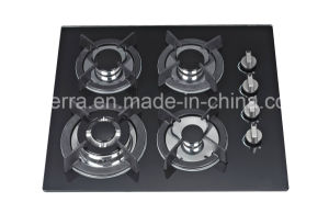 Built-in China Supplier Tempered Glass Gas Hob Stove Ce Certificate Jzg54201 pictures & photos
