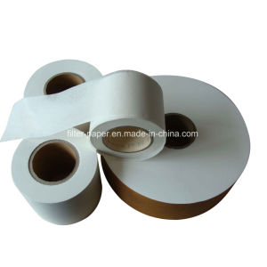 Manufacture High Quality 125mm Heat Seal Tea Bag Filter Paper Roll pictures & photos