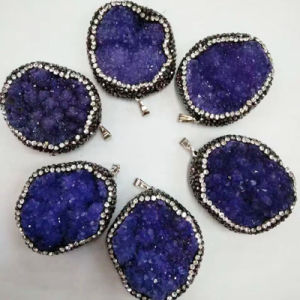 Natural Agate Druzy Stones Semi Precious Stone Wholesale pictures & photos