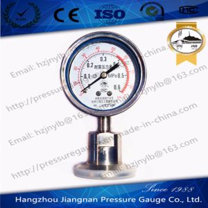 0.6MPa Vibration Proof Pressure Gauge with Double Scale pictures & photos