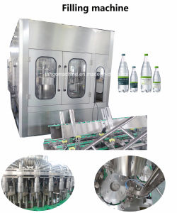 Complete Turn-Key Auto Liquid Pet Bottle Filling Water Bottling Plant Machine Packing Production Line pictures & photos