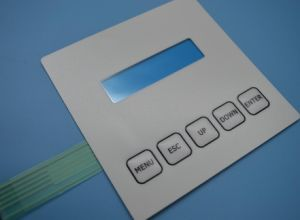 Industrial Control Keypad Electrical Membrane Switch with Display Window pictures & photos