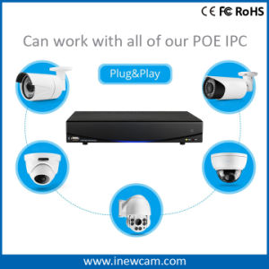 New 1080P 2MP 4CH Onvif Poe P&P Network DVR pictures & photos