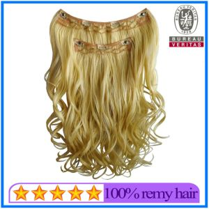 Highest Quality Human Hair Clip on Hair Extension pictures & photos