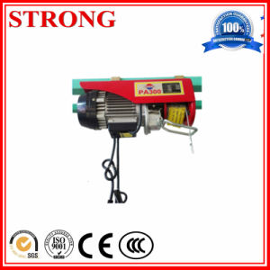100~1000kg Mini Electric Rope and Wire Hoist for Construction pictures & photos