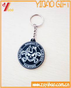 Round-Shaped Soft PVC and Silicone Keychain Custom (XY-HR-84) pictures & photos