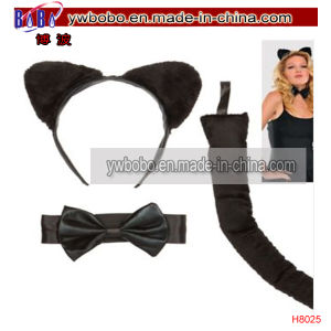 Cat Ears Fancy Dress Halloween Carnival Costume Set Headwear (H8025) pictures & photos