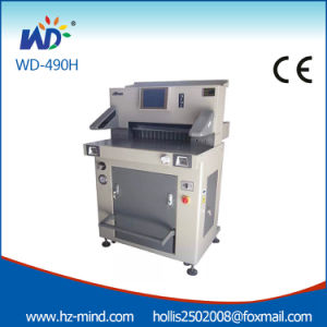 Hydraulic Cutting Machine Paper Machine (WD-490R) pictures & photos