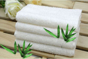 Household Cleaning Towel Bamboo Fiber Dish Cloths China Manufacture Factory pictures & photos