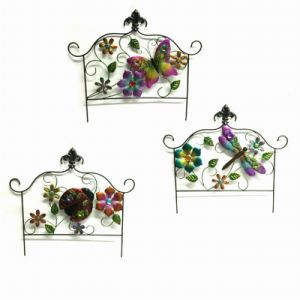 Promotion Gift Simple Black Linellae Garden Decoration Fence Craft pictures & photos