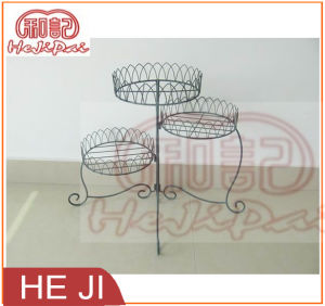 Foldable Planter Stand Made in Iron Wire pictures & photos