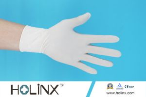Powder Free Disposable Surgical Latex Gloves pictures & photos