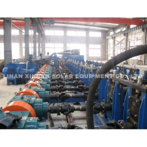 Highway Guardrail W-Beam Galvanized Steel Highway Guardrail Roll Forming Machine pictures & photos