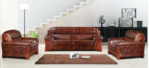 Modern Design Synthetic Leather Sectional Office Sofa (HX-CF002) pictures & photos