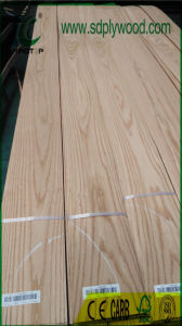 Sliced Cut Crown Red Oak Ab Grade for Furniture, Laminated Boards pictures & photos