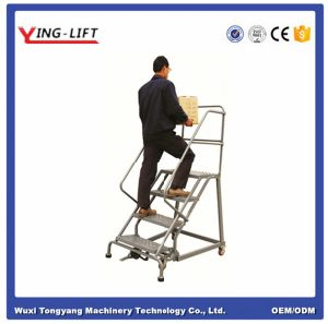 Industrial Steel Rolling Ladders pictures & photos