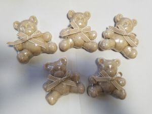 Natural Love Bear Shape Soap with Oat pictures & photos