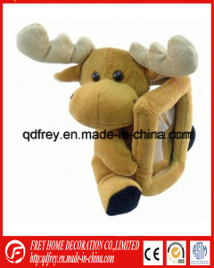Plush Deer Toy Photo Frame for Promotional Gift pictures & photos