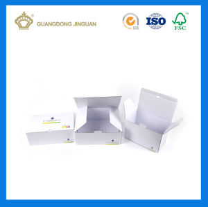 2017 China Supplier White Corrugated Paper Mailing Box (with Custom Logo Printing) pictures & photos