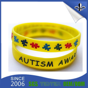 Good Price Debossed Silicone Wristband for Promotion pictures & photos