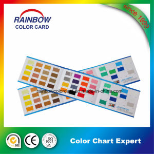 Decorative Coating Three Folds Color Card pictures & photos