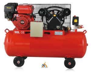 High Quality Professional Big Size Petrol Diesel Engine Air Compressor pictures & photos