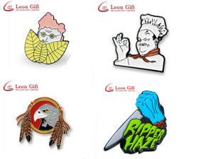 Factory Customized Enamel Metal Logo Badge Lapel Pin pictures & photos