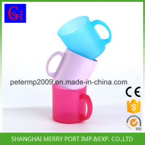 Plastic Mug, Personalized Sublimation Cups with Handle pictures & photos