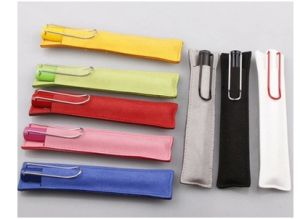 Microfiber Uses Pen Bags, Pen Holder Print Logo