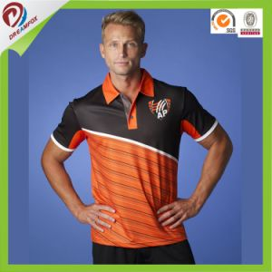 Wholesale Custom Sublimated Dry Fit Custom Mens Polo Shirts pictures & photos