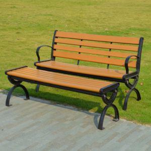 Patio Garden Outdoor Morden Furniture Metal Plastic Wood Table Leisure Chair (J822) pictures & photos