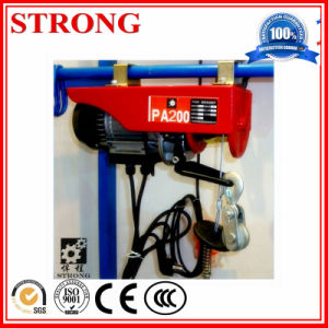 Mini Electric Hoist 220V Remote Control Electric Small Crane Control pictures & photos