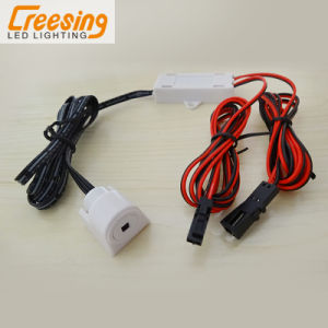Plastic LED Sensor Switch with Junction Box for Cabinet Light pictures & photos