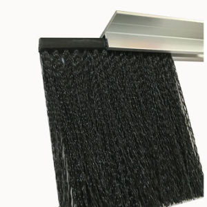 "Metal Back Strip Brush with Light Duty 3/16"" Galvanized Steel Backing pictures & photos"