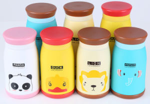 2017 New Double Wall Stainless Steel Thermos Vacuum Flask for Child pictures & photos