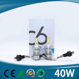 Hot Sale 40W LED Car Headlight H4 Auto LED Bulb pictures & photos