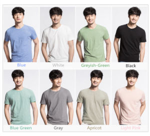 Distributor Fashion Clothes Printing or Embroidery Clothing Bamboo of Polo T Shirt for Men pictures & photos