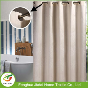 Custom Polyester Modern Hookless Extra Long Shower Curtain