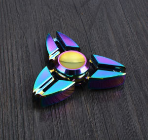 R188 Bearings Colorful Three Angle Crab Shaped Hand Fidget Spinner pictures & photos