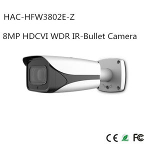 8MP Hdcvi WDR IR-Bullet Camera (HAC-HFW3802E-Z) pictures & photos