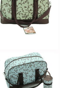 New Manufacturers Direct Bag Multifunctional Mother Bag Flower Cloth Pattern Three Sets of Mummy Bag pictures & photos